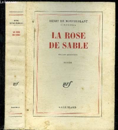 LA ROSE DE SABLE