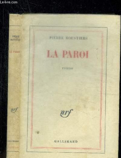 LA PAROI