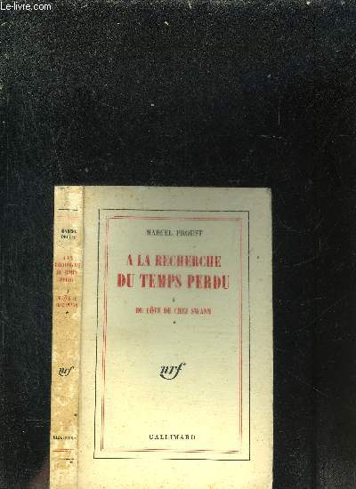 A LA RECHERCHE  DU TEMPS PERDU II