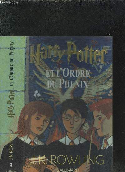 HARRY POTTER ET L ORDRE DU PHENIX