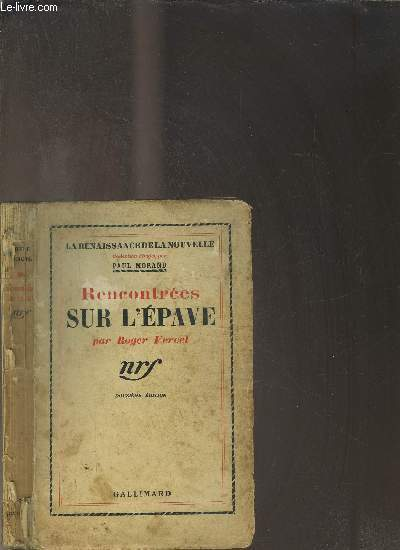RENCONTREES SUR L EPAVE