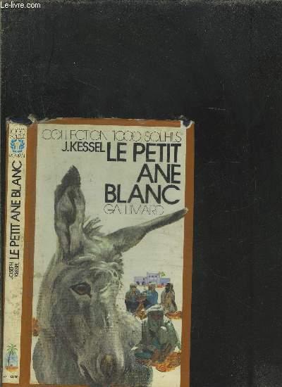 LE PETIT ANE BLANC.COLLECTION 1000 SOLEILS