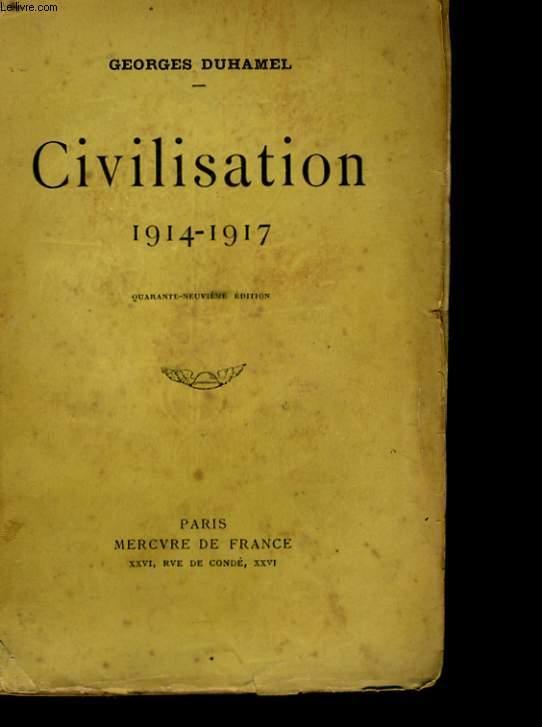 CIVILISATION 1914-1917