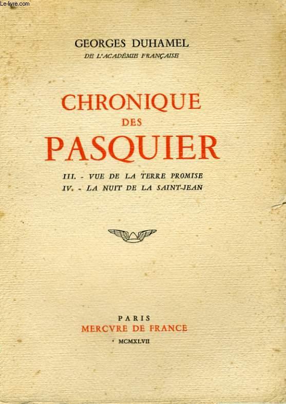 CHRONIQUE DES PASQUIER, 2