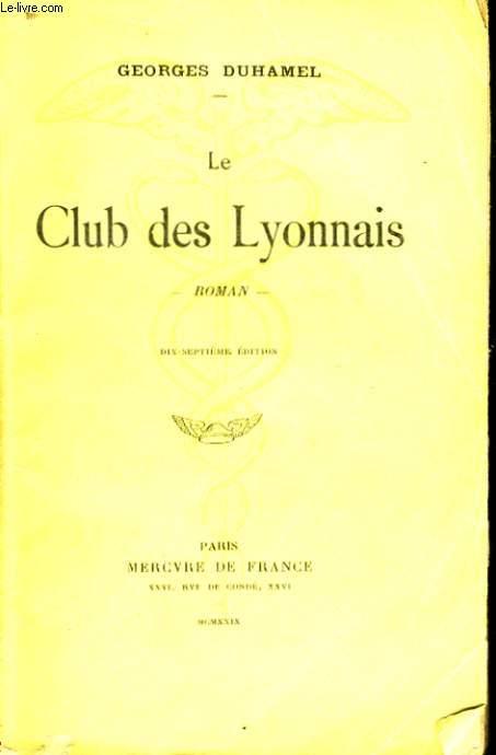 LE CLUB DES LYONNAIS