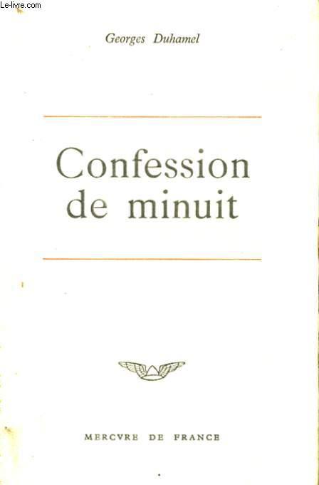 CONFESSION DE MINUIT
