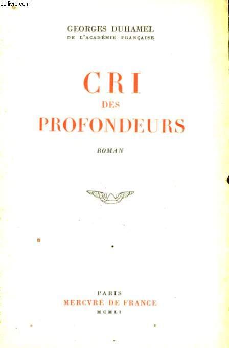 CRI DES PROFONDEURS