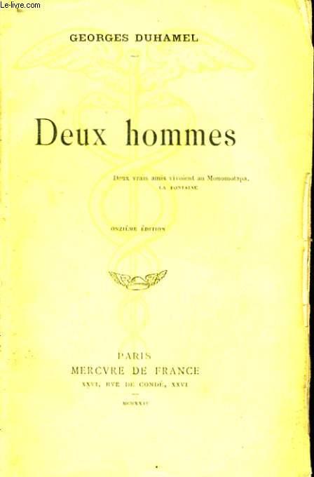 DEUX HOMMES