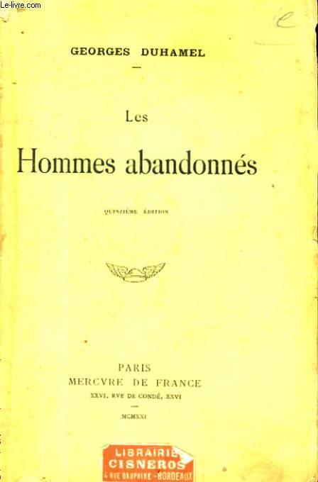 LES HOMMES ABANDONNES