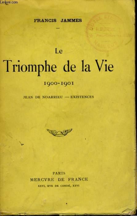 LE TRIOMPHE DE LA VIE 1900-1901