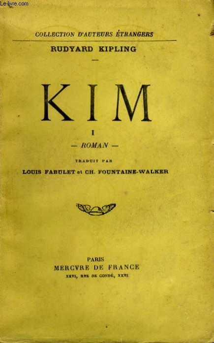 KIM, TOMES 1 ET 2