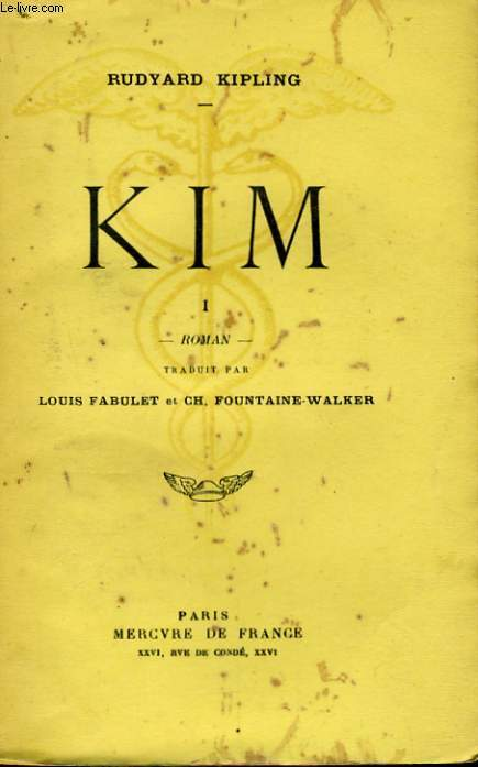 KIM, TOME 1