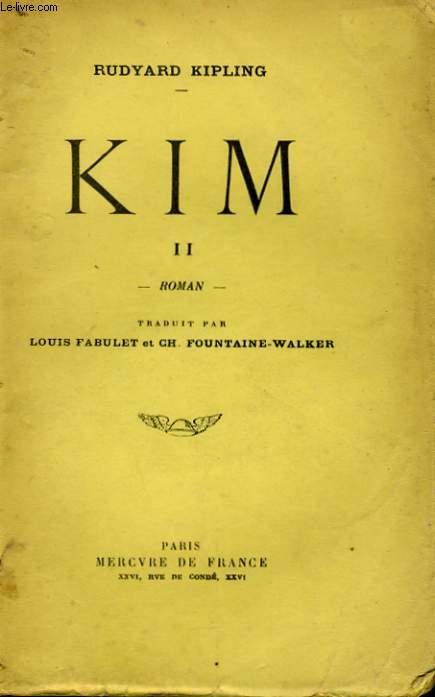 KIM, TOME 2