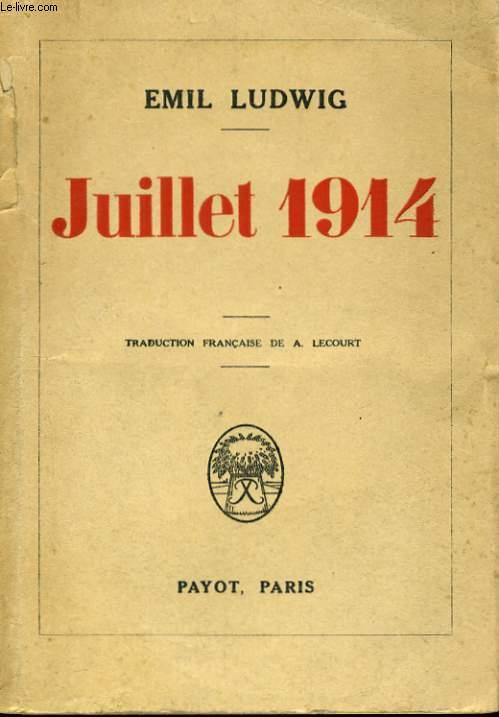 JUILLET 1914