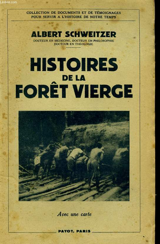 HISTOIRE DE LA FORET VIERGE