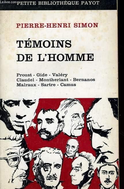 TEMOINS DE L'HOMME