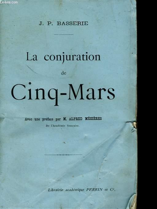 LA CONJURATION DE CINQ-MARS