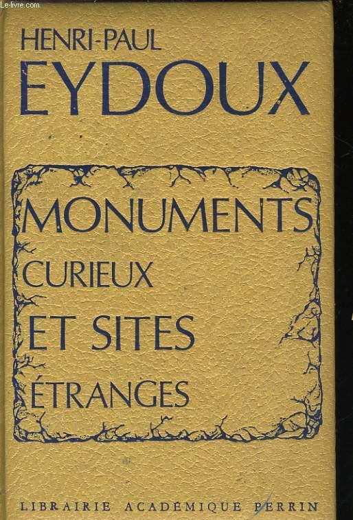 MONUMENTS CURIEUX ET SITES ETRANGES