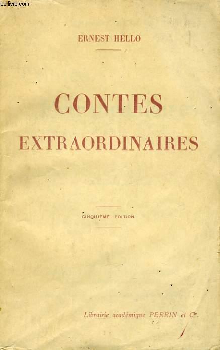 CONTES EXTRAORDINAIRES