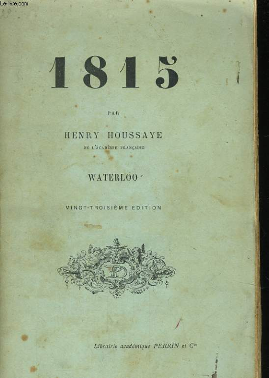 1815, WATERLOO