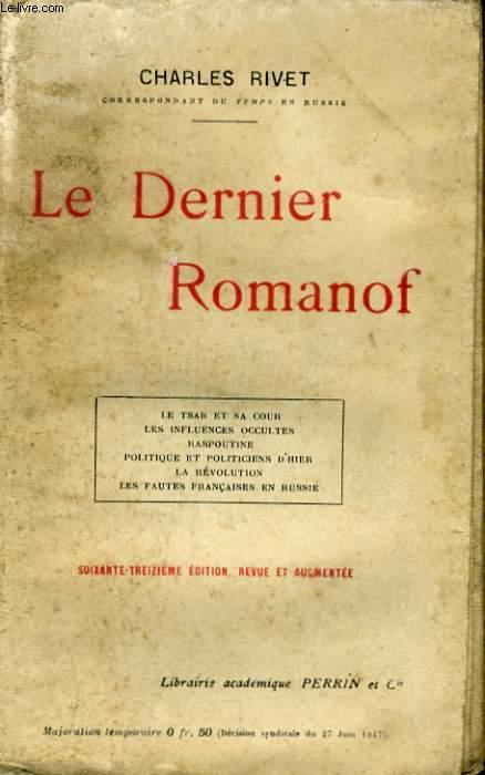 LE DERNIER ROMANOF