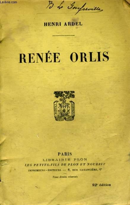 RENEE ORLIS