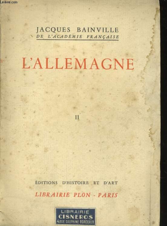 L'ALLEMAGNE, TOME 2