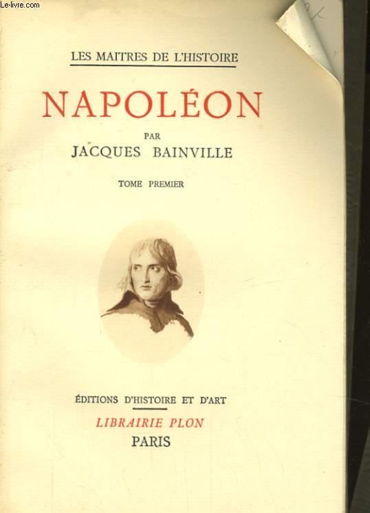 NAPOLEON, TOMES 1 ET 2