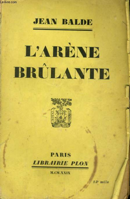 L'ARENE BRULANTE