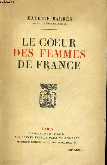 LE COEUR DES FEMMES DE FRANCE