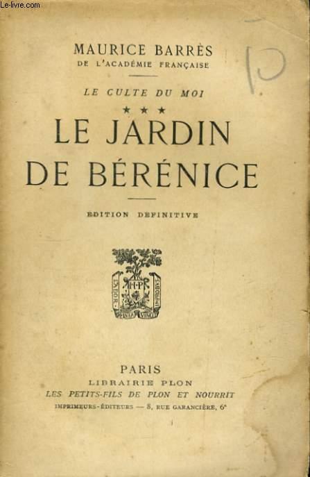 LE JARDIN DE BERENICE