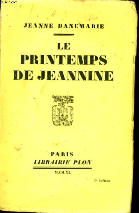 LE PRINTEMPS DE JEANNINE