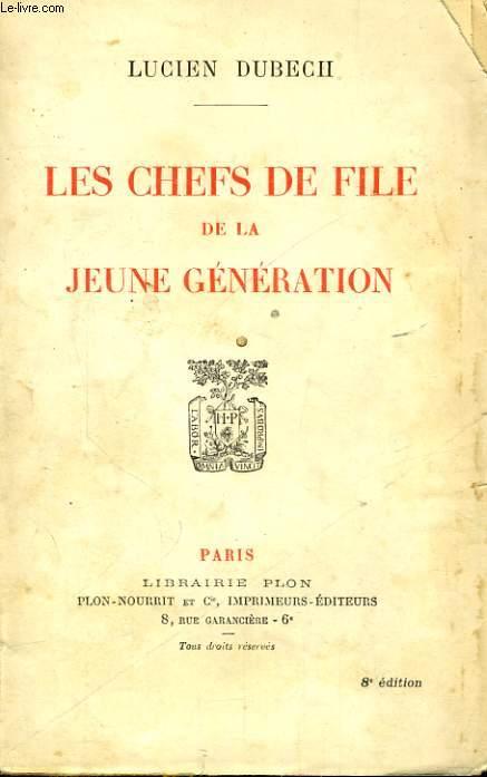 LES CHEFS DE FILE DE LA JEUNE GENERATION