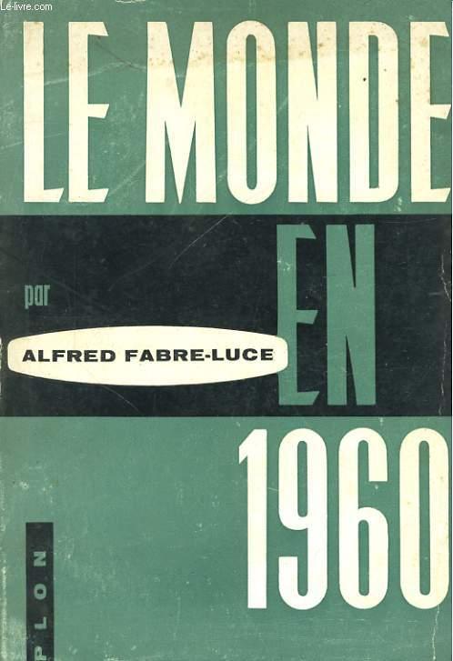 LE MONDE EN 1960
