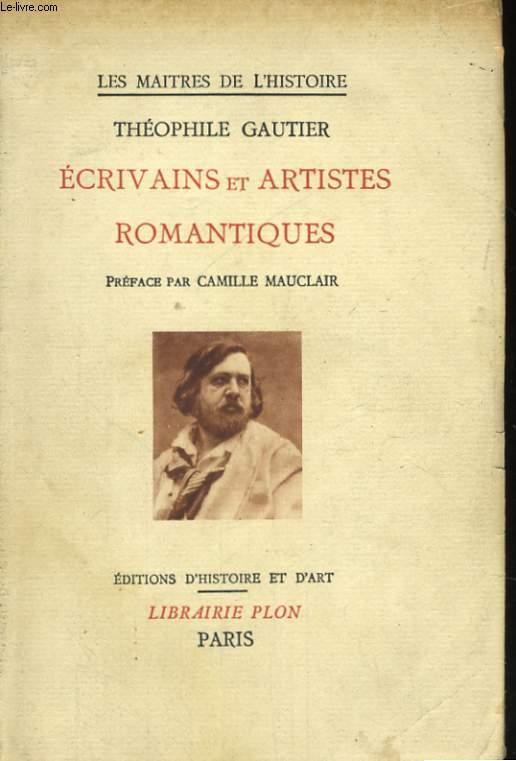 ECRIVAINS ET ARTISTES ROMANTIQUES