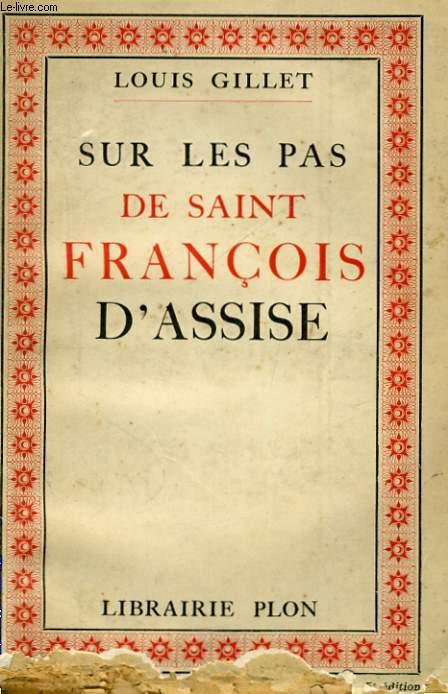 SUR LES PAS DE SAINT FRANCOIS D'ASSISE