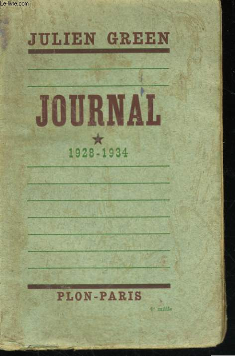 JOURNAL, TOMES 1 A 5