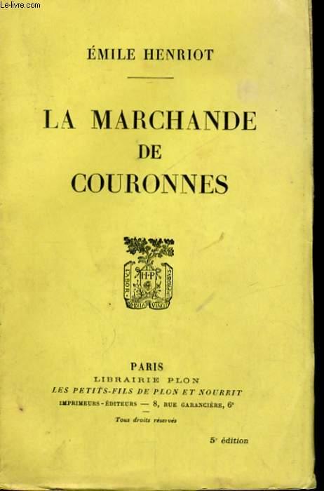LA MARCHANDE DE COURONNES