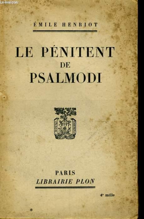 LE PENITENT DE PSALMODI