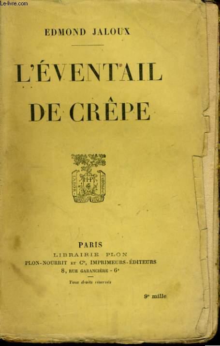 L'EVENTAIL DE CREPE