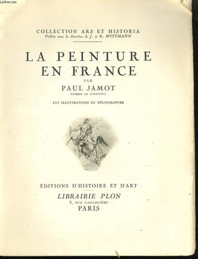 LA PEINTURE EN FRANCE