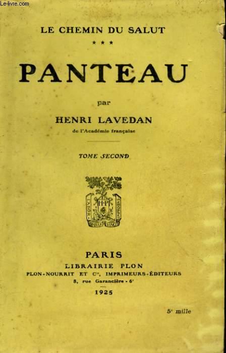 LE CHEMIN DU SALUT, 3: PANTEAU, TOME 2