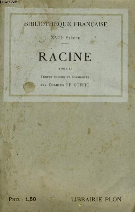 RACINE, TOME 2