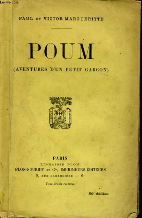 POUM (AVENTURES D'UN PETIT GARCON)