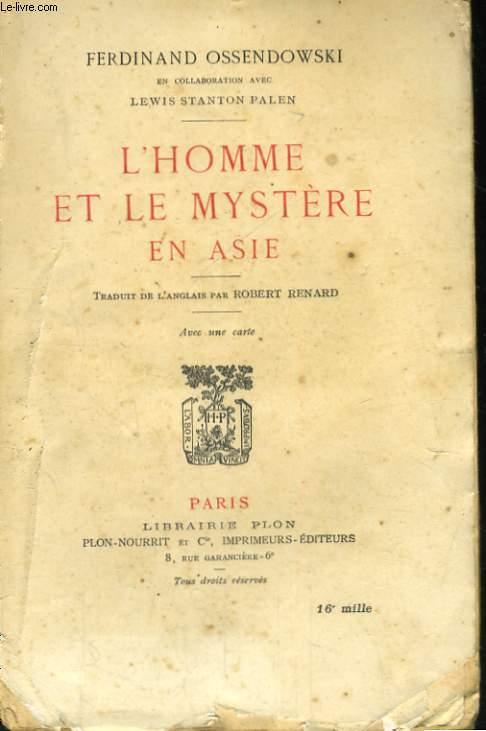 L'HOMME ET LE MYSTERE EN ASIE