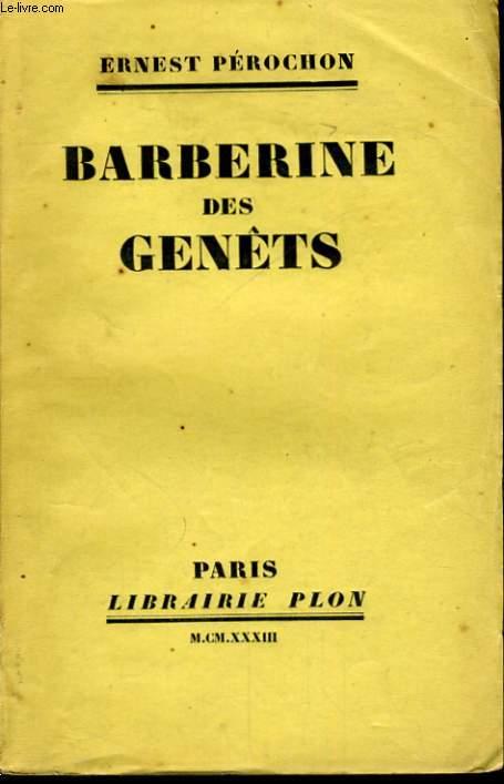 BARBERINE DES GENETS