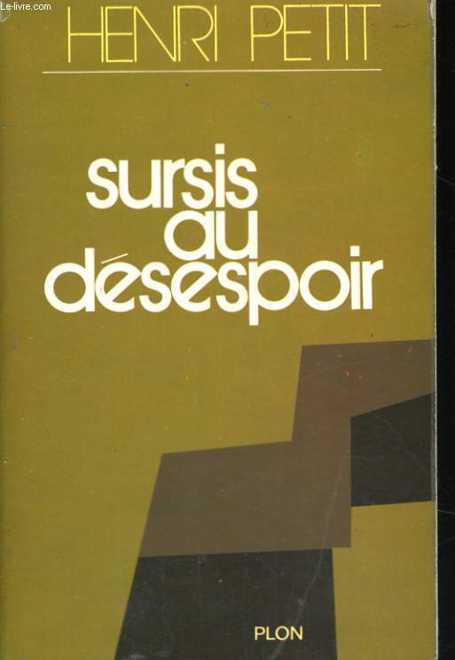 SURSIS AU DESESPOIR