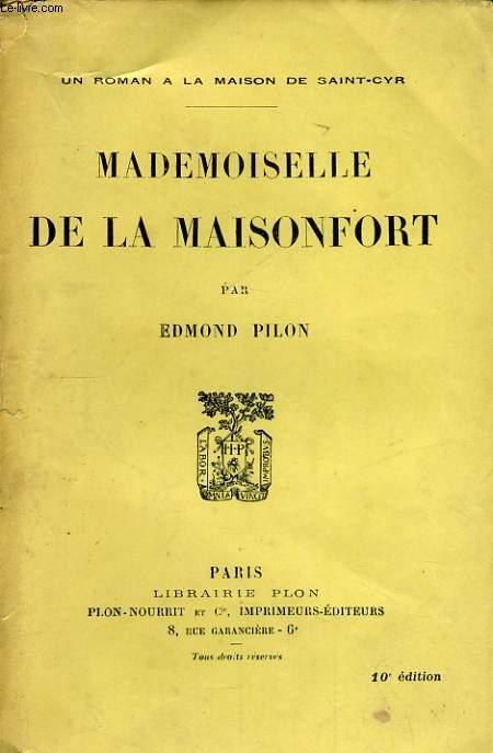 MADEMOISELLE DE LA MAISONFORT