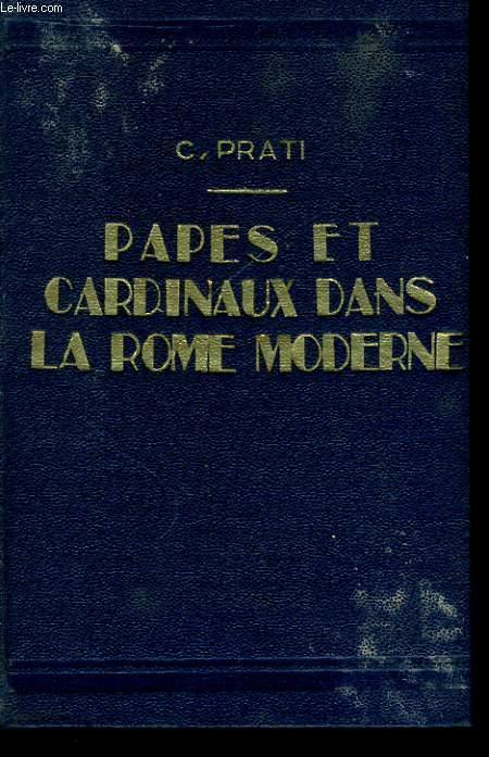 PAPES ET CARDINAUX DANS LA ROME MODERNE