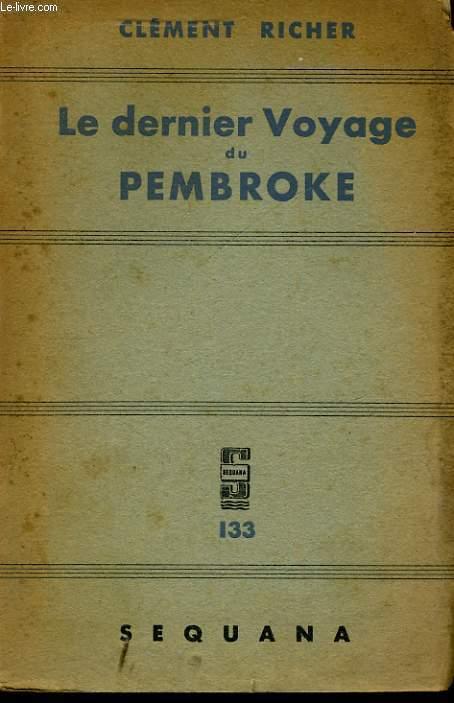 LE DERNIER VOYAGE DE PEMBROKE